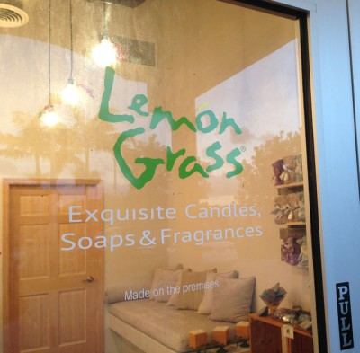 Lemon Grass Front Door