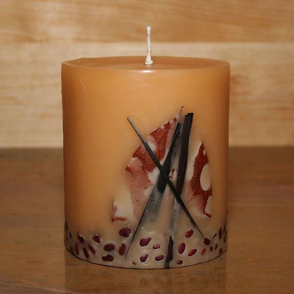 Crème Brûlée Candles - 4x4.5 Round