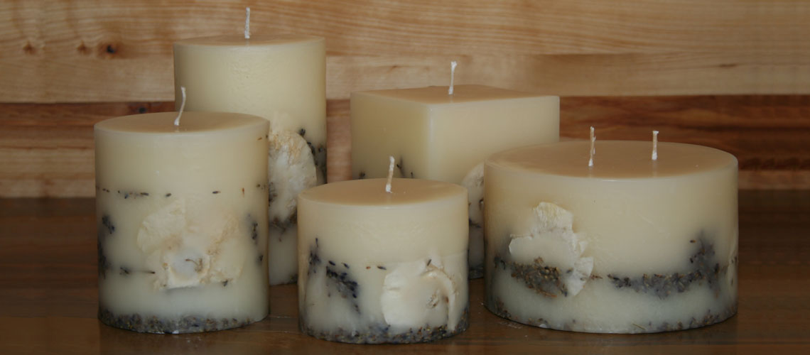 french linen scented candles