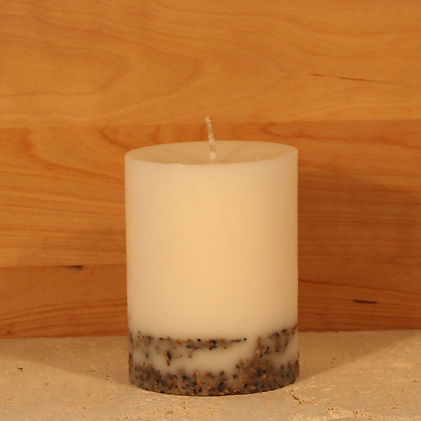 Organic Lavender scented candle