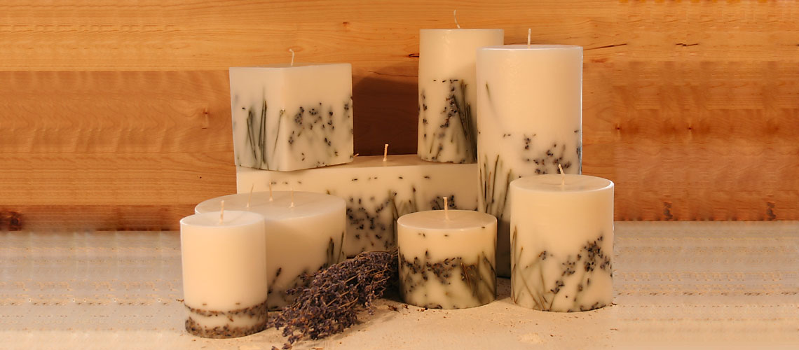 Organic Lavender Candle Collection