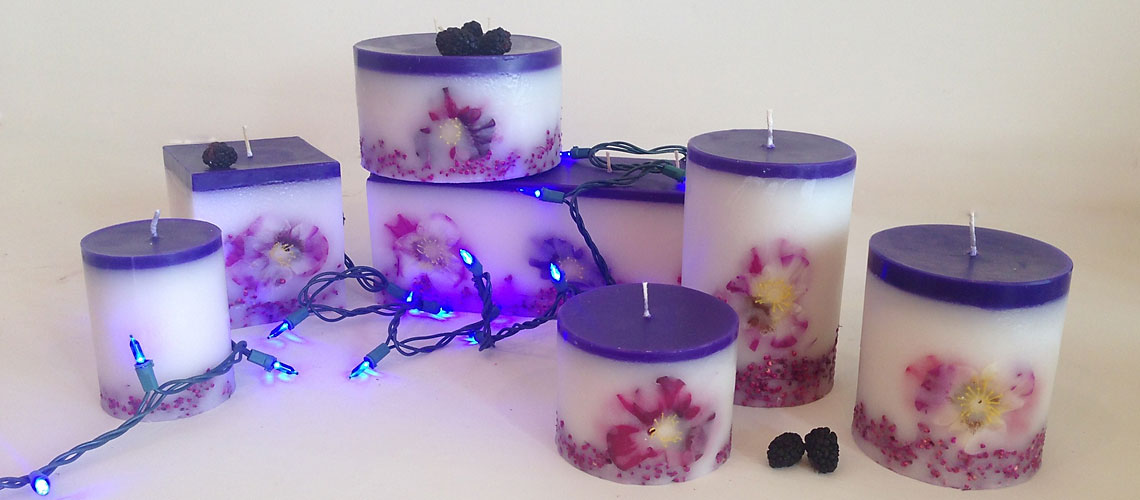 dancing lights of hanukkah candle collection