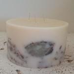 Garden Sage 6x3.5 Round handmade candle