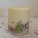 Garden Sage 4x4.5 Round handmade candle