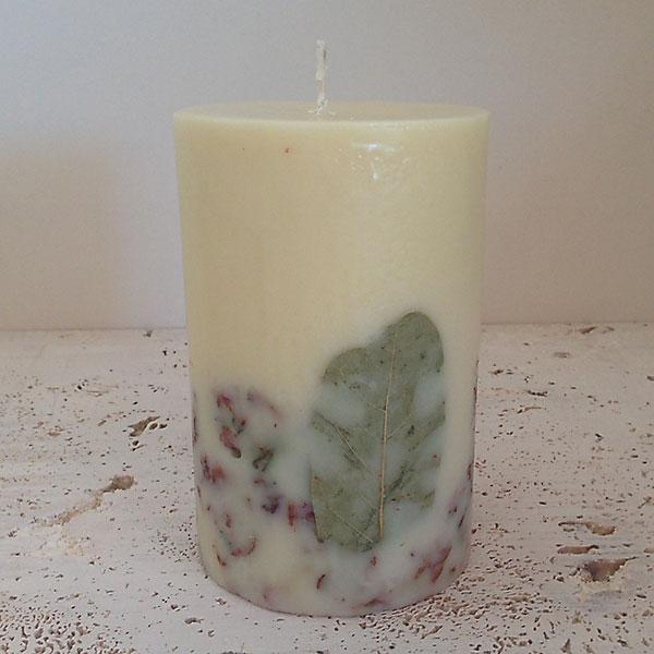 Garden Sage 4x6 Round handmade candle
