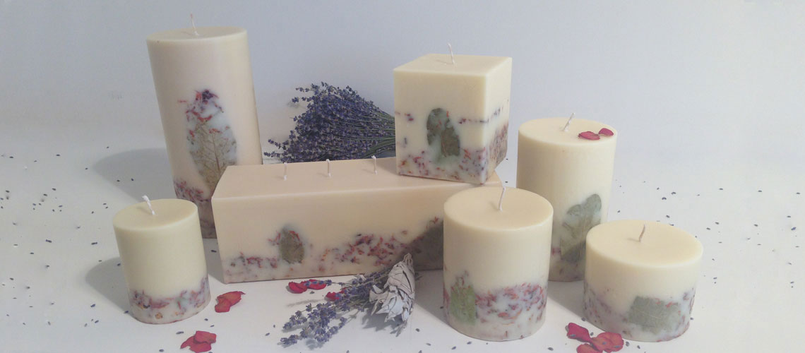 Garden Sage handmade candle collection