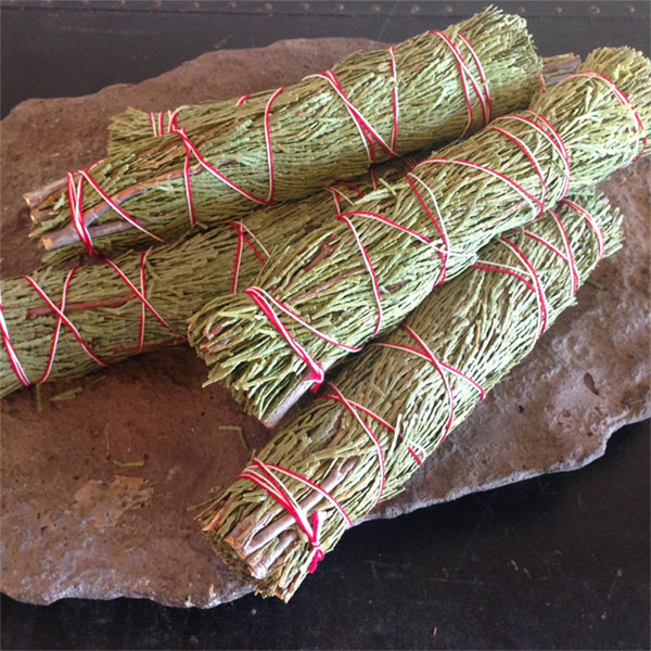 Fragrant Cedar Smudge Sticks