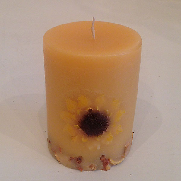 Citrus Sunburst 3x4 Round scented candle