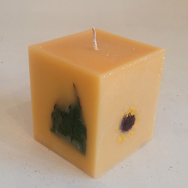 Citrus Sunburst 4x4.5 Square scented candle