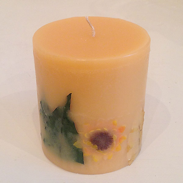 Citrus Sunburst 4x4.5 Round scented candle
