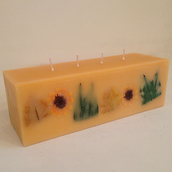 Citrus Sunburst 4x4x12 scented candle