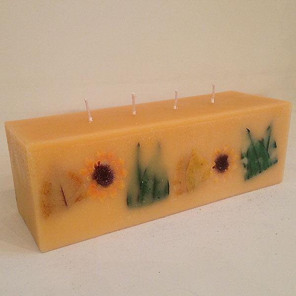 Citrus Sunburst 4x4x12 scented candle