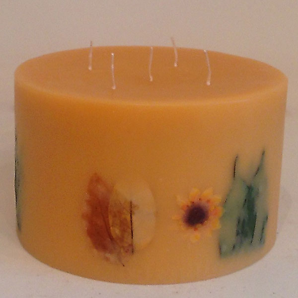 Citrus Sunburst 10x6 Round scented candle
