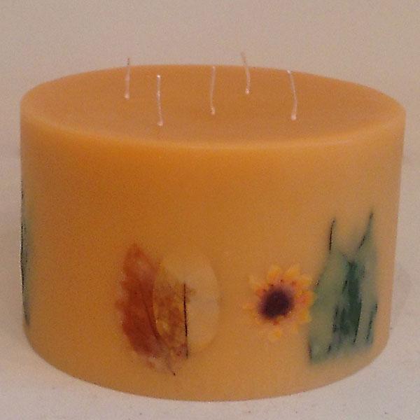 Citrus Sunburst 10x6 Round scented candle
