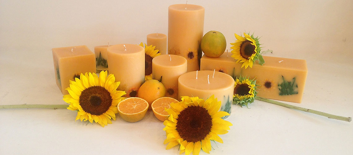 Citrus Sunburst Botanical Candle Collection