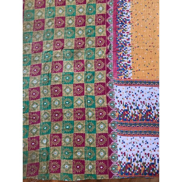 Kantha Blanket 15a