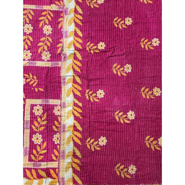 Kantha Blanket 15b