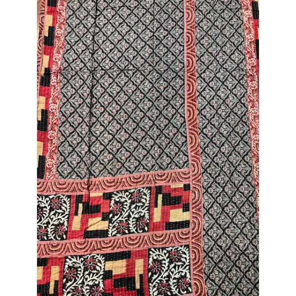 Kantha Blanket 8a