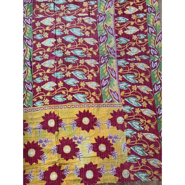 Kantha Blanket 9b