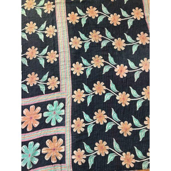 Kantha Blanket 17a