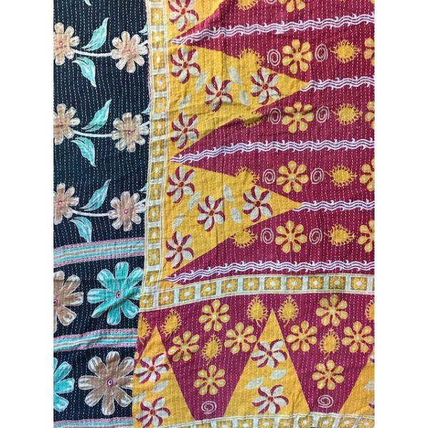 Kantha Blanket 17b
