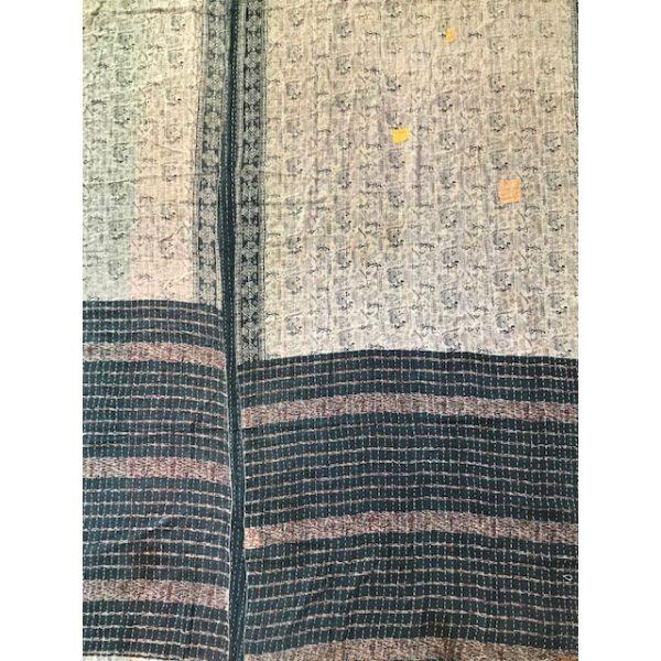 Kantha Blanket 18a