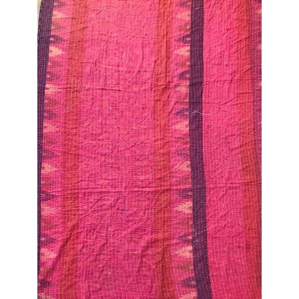 Kantha Blanket 18b