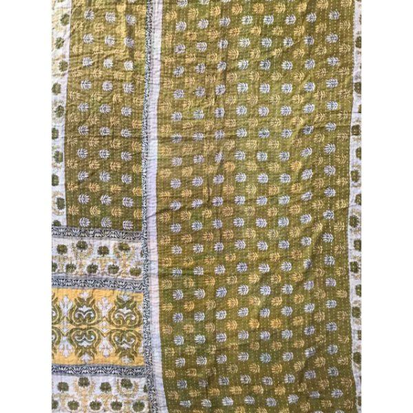 Kantha Blanket 19a