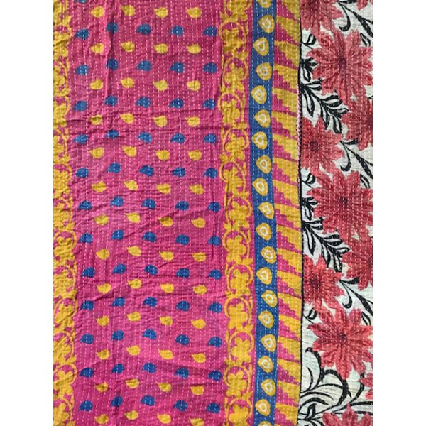 Kantha Blanket 19b