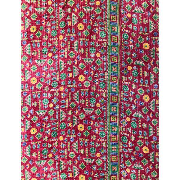 Kantha Blanket 21a