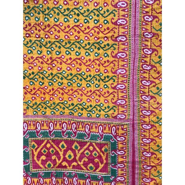 Kantha Blanket 22a